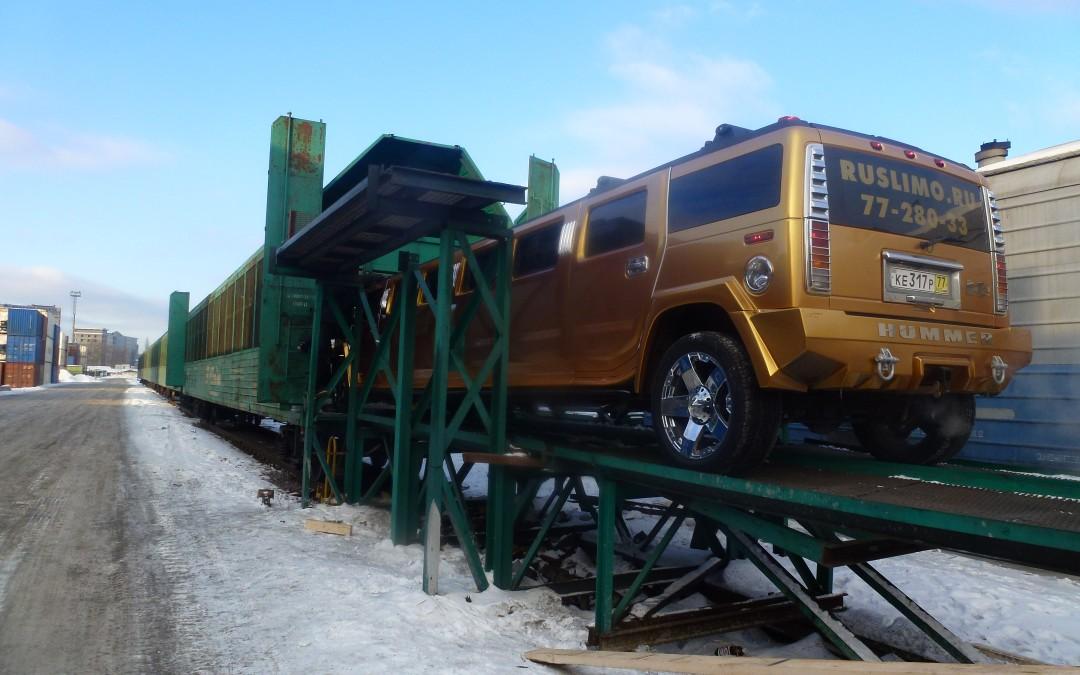 Новая услуга по перевозке легковых автомобилей из Санкт-Петербурга